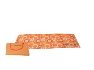 mata plażowa pomarańczowa