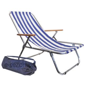 leżak plażowy składany