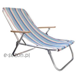 Aluminiowy leżak plażowy