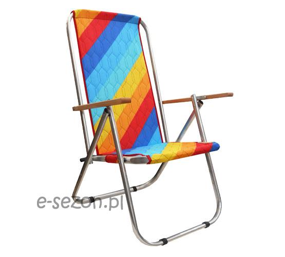 Plażowe krzesło składana z aluminium