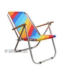 Składane aluminiowe krzesło
