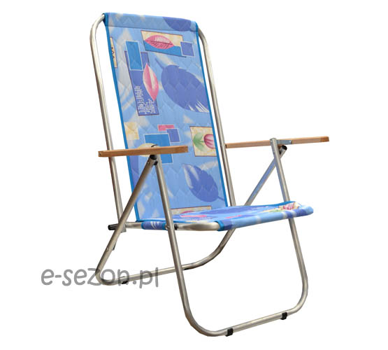 leżak mocny - krzesło plażowe - wytrzymałe