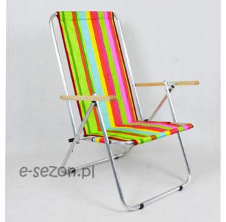 Krzesło plażowe, aluminiowe