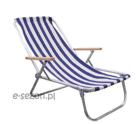 leżak plażowy aluminiowy
