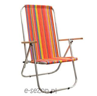 Plażowe krzesło turystycznena pół