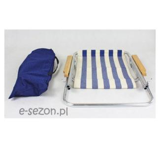 Leżak złożony na pół