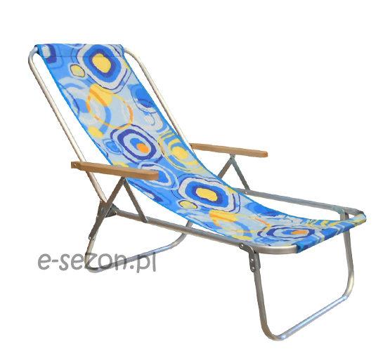 leżak na plażę