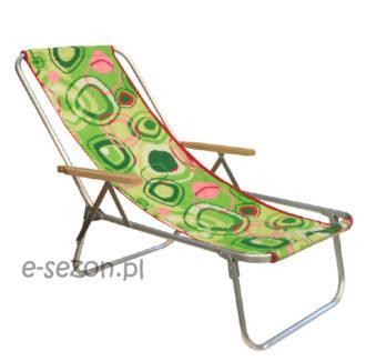 składany leżak plażowy
