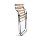 Złożone krzesło aluminiowe