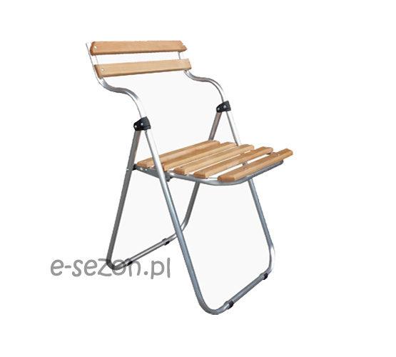 lekkie i wygodne krzesło składane