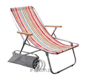 leżaki plażowe składane