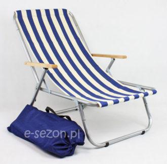 Leżak plażowy składany do torby