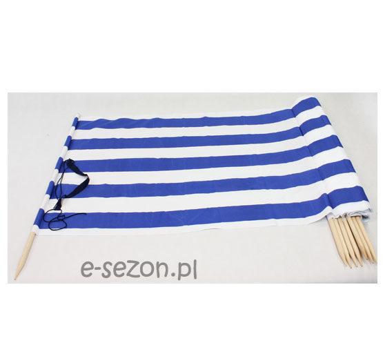 Parawan plażowy morski
