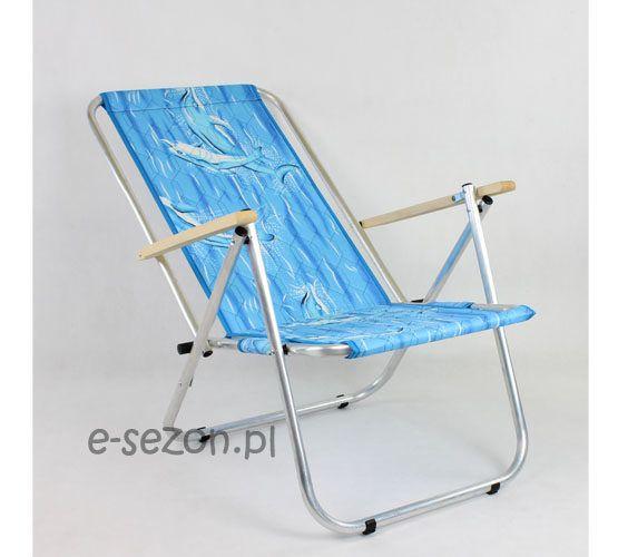 Krzesła plażowe - delfin