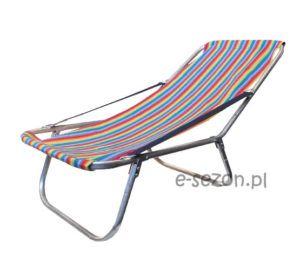 Składany lekki leżak plażowy do worka