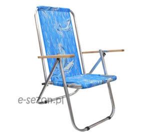 Krzesło plażowe max 150 kg