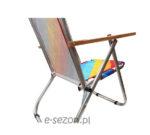 Składane aluminiowe krzesło plażowe