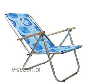 krzesło plażowe aluminiowe składane turystyczne