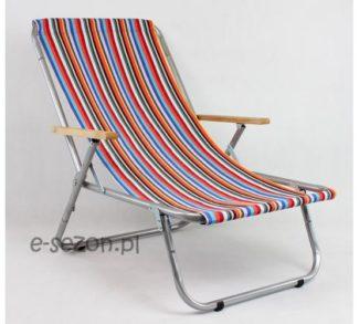 Leżak - kolorowe paski