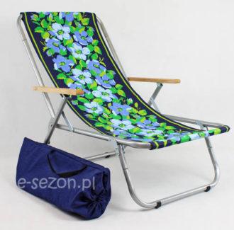 leżak plażowy rozkładany