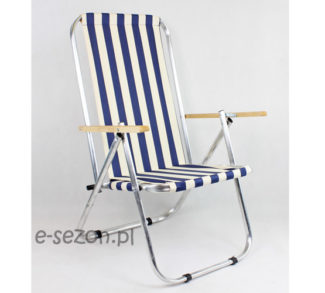 Krzesło plażowe 150 kg