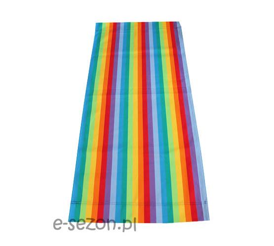 Kolorowa tapicerka na leżaki