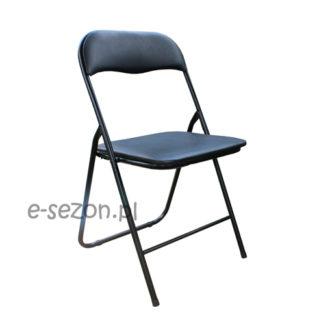 Metalowe krzesło składane