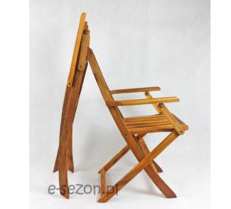 Krzesło złożone