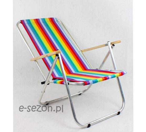 Lekkie krzesło plażowe