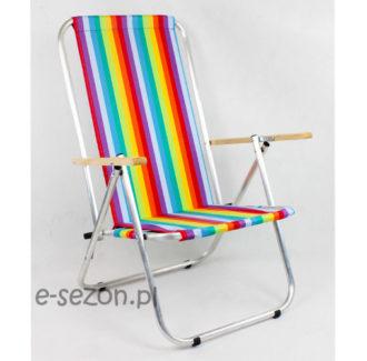 Krzesło plażowe aluminiowe