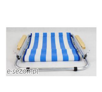 Leżak złożony z siatki